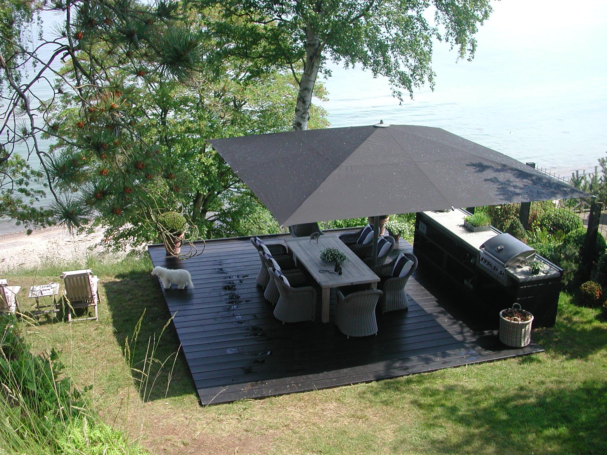 parasols xl parasol basto vierkant voor tuin of terras. Black Bedroom Furniture Sets. Home Design Ideas