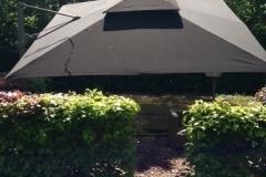 tuinparasol-Fratello-zwart-bovenzijde