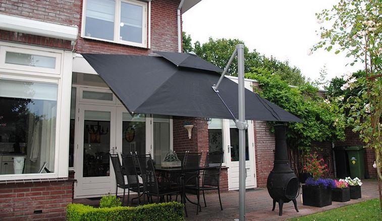 parasol Laterna zwart