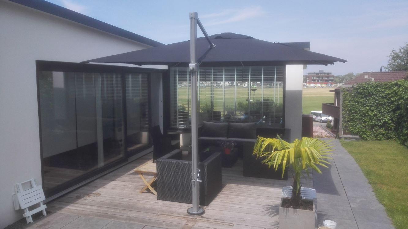 Parasols xl zweefparasol palestro voor uw tuin of terras - Zon parasol ...
