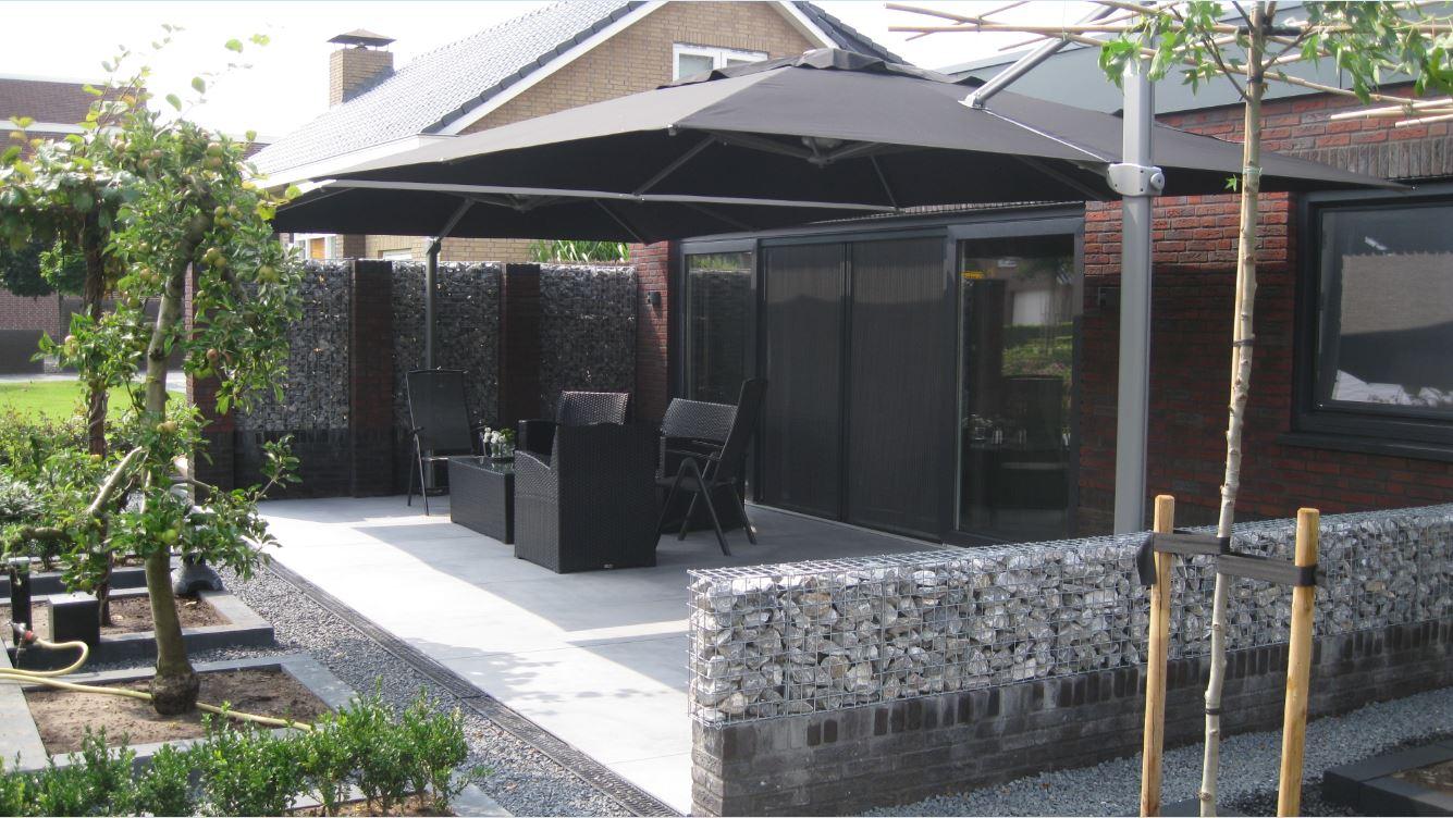 parasols xl zweefparasol palestro voor uw tuin of terras. Black Bedroom Furniture Sets. Home Design Ideas
