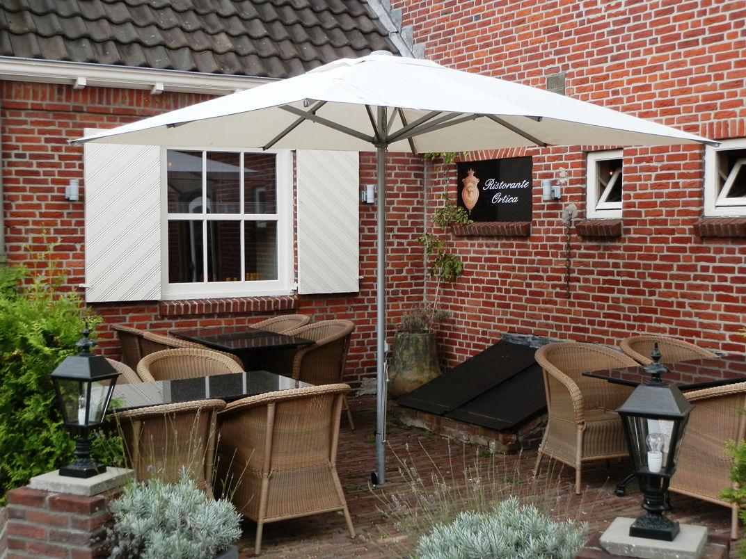 Parasols xl parasol patio voor tuin of terras - Luifel ontwerp voor patio ...