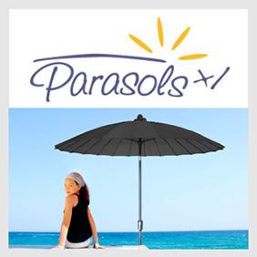1. Parasols (mast in het midden)