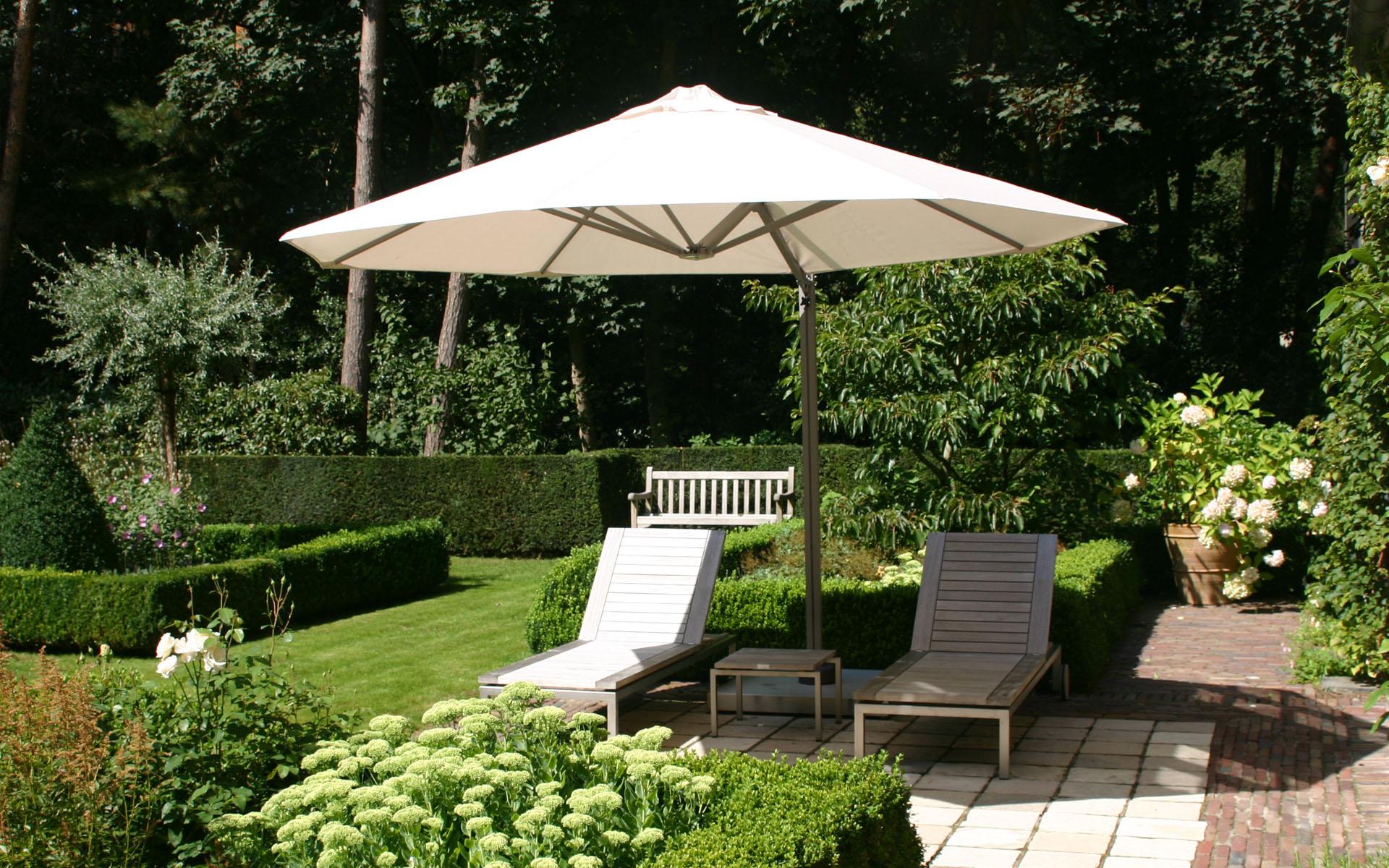 Gartenzelt 3 4 M : Parasols xl luxe tuin horeca